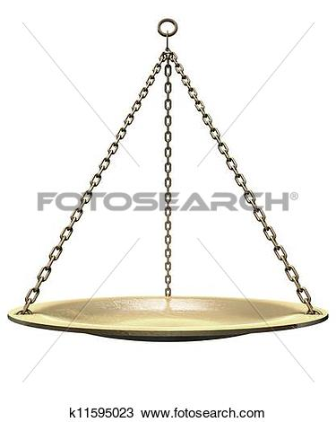 Stock Photo of Suspending Weighing Dish k11595023.