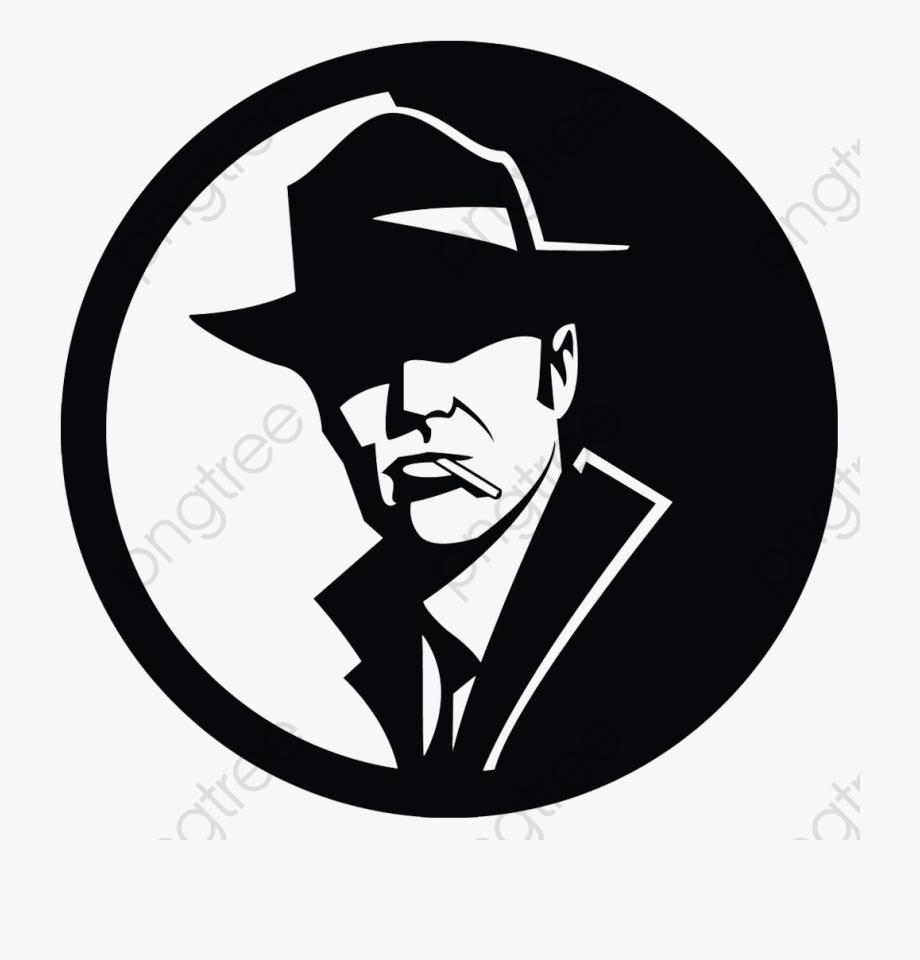 Detective Suspense Cigarette Black Transparent Background.