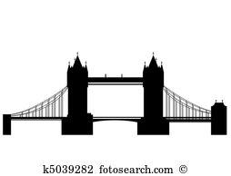Suspension bridge Clipart Illustrations. 248 suspension bridge.
