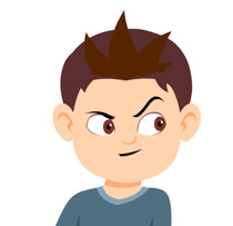 Free Facial Expressions Clipart.
