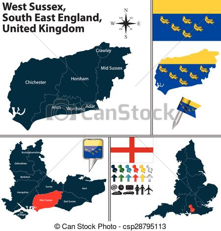 Sussex clipart.