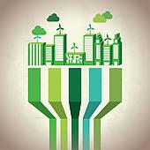 Sustainable Development Clip Art.