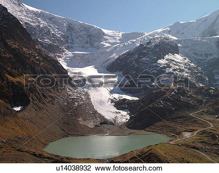 Stock Photo of Switzerland, Europe, Bern, Berne, Sustenpass.