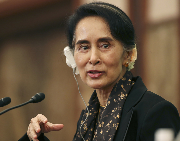 Suu Kyi: No blame in Rakhine violence without clear evidence.