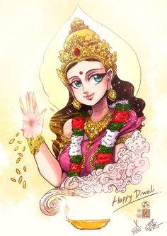 Devi Laxmi Lakshmi Maa.