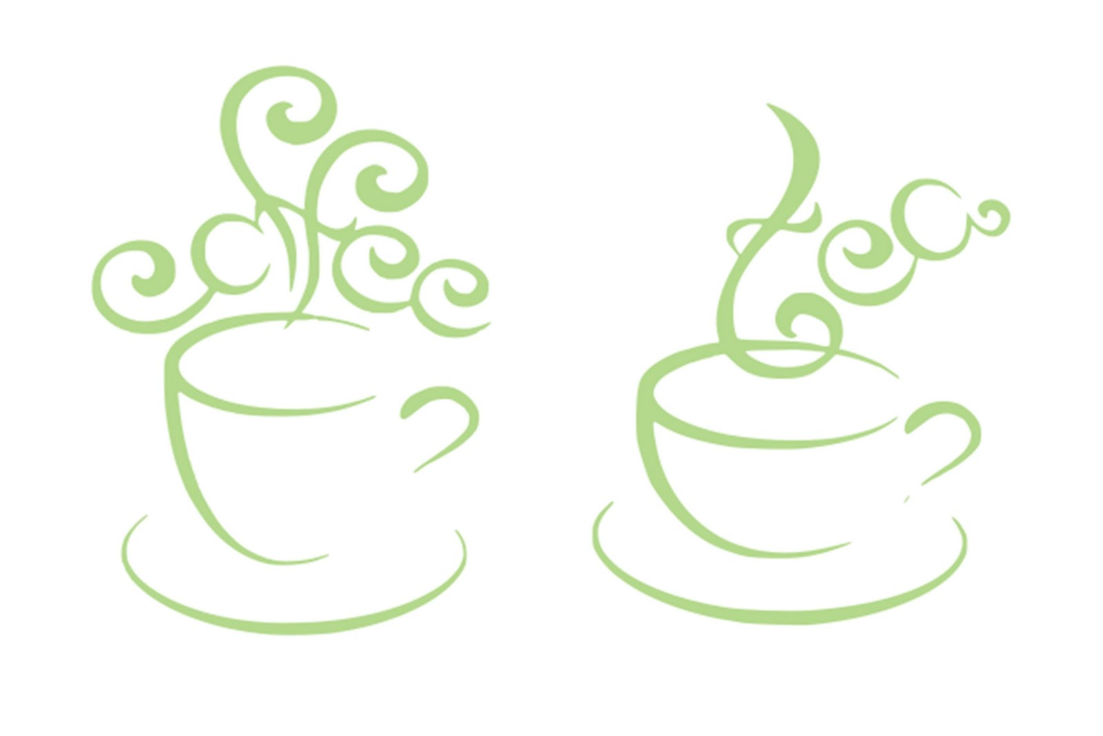 Clipart tea and coffee.