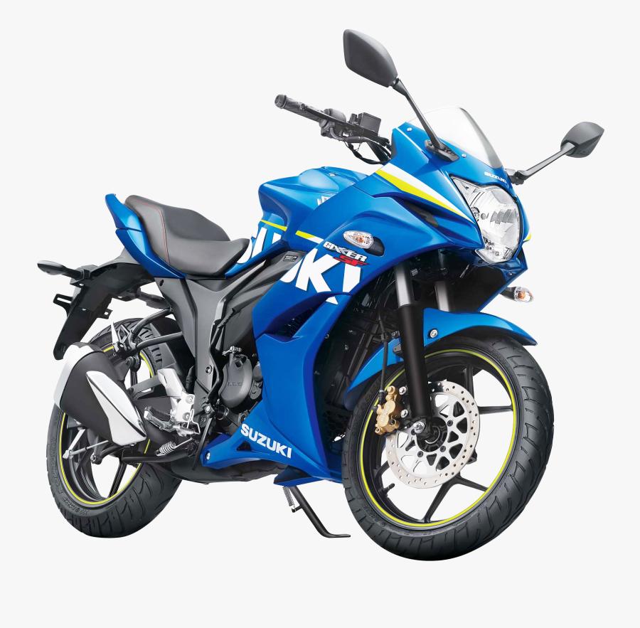 Suzuki Bike Png Transparent Image.