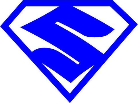 Blank Superman Logo.
