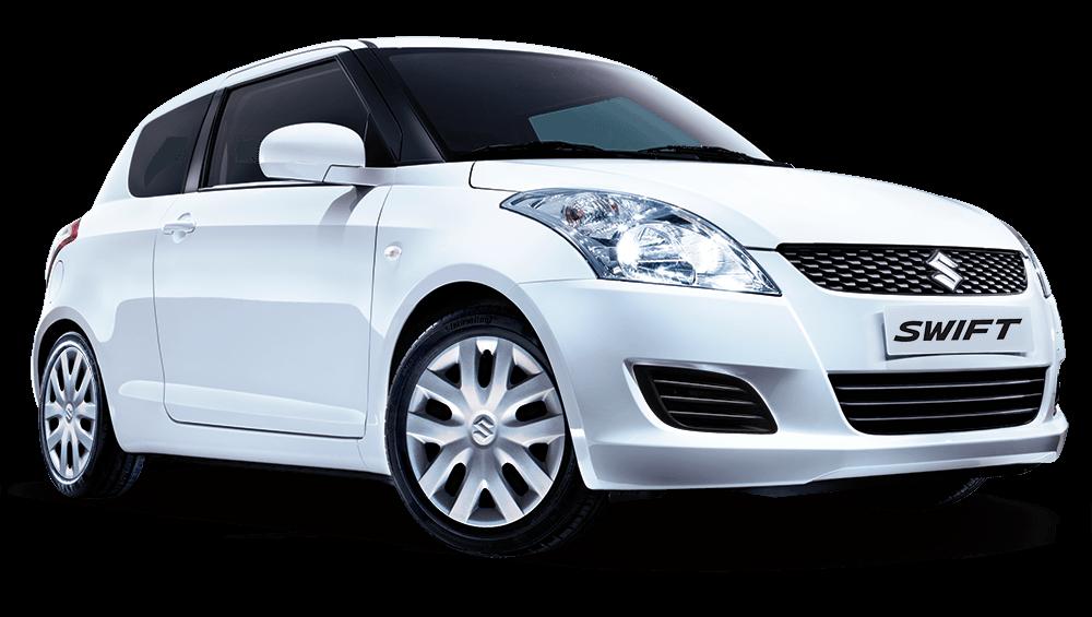 Suzuki Swift White transparent PNG.