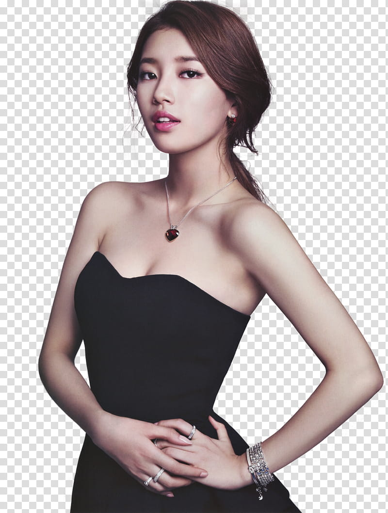 Suzy Miss A Render, Suzy standing with left arm akimbo.