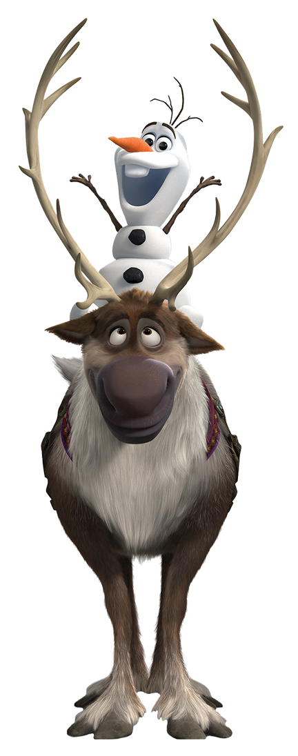 Olaf And Sven Clipart.