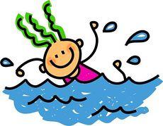 Clipart Svømning.