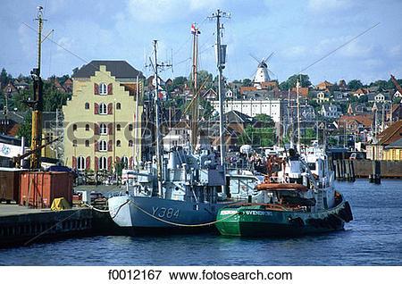 Picture of Denmark, Fionie Island, Svendborg f0012167.
