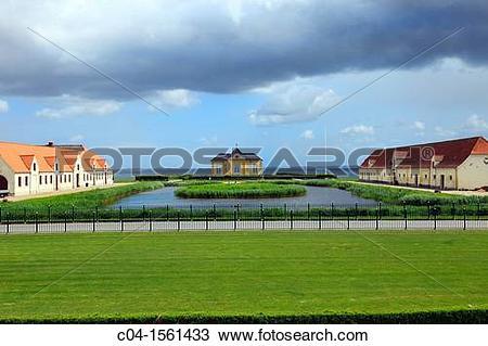 Stock Photo of Valdemars Castle, Svendborg, T?singe island.