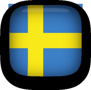 Animated Sweden Flag.