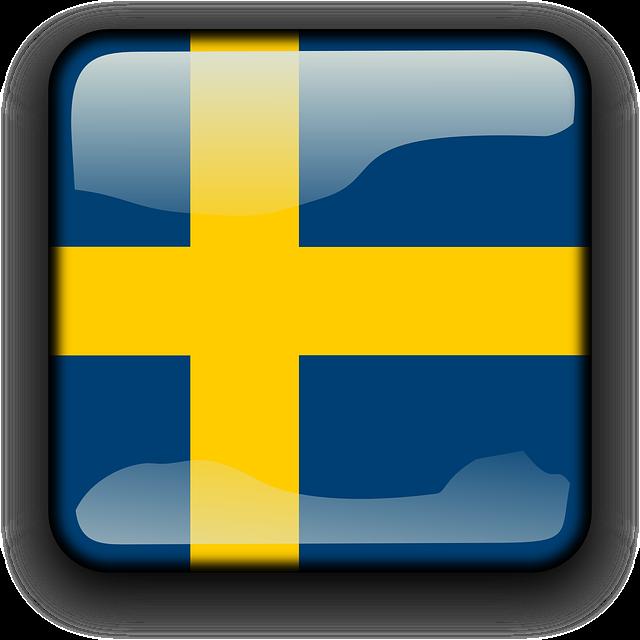 Gratis bildbank: Gratis svenska flaggan.