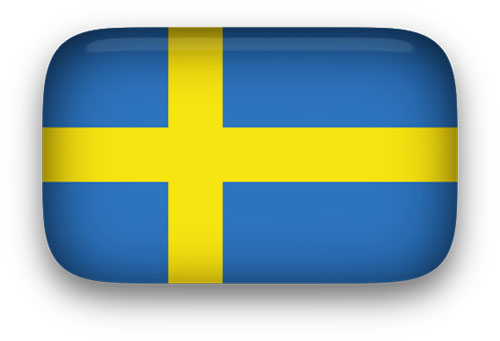 Animated Sweden Flag.