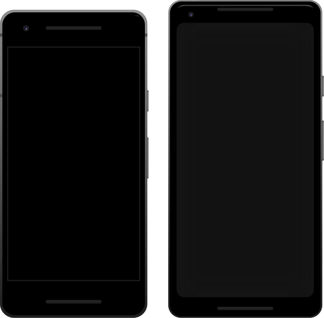 File:Pixel 2 and Pixel 2 XL.svg.
