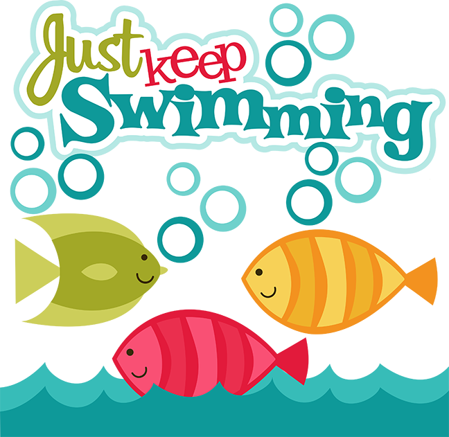 Just Keep Swimming SVG scrapbook collection fish svg files fish.