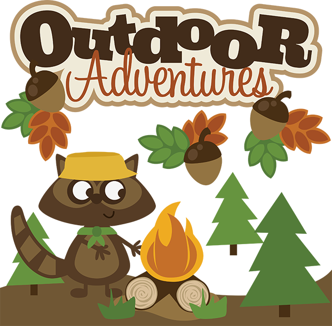 Outdoor Adventures SVG scrapbook collection svg files for.