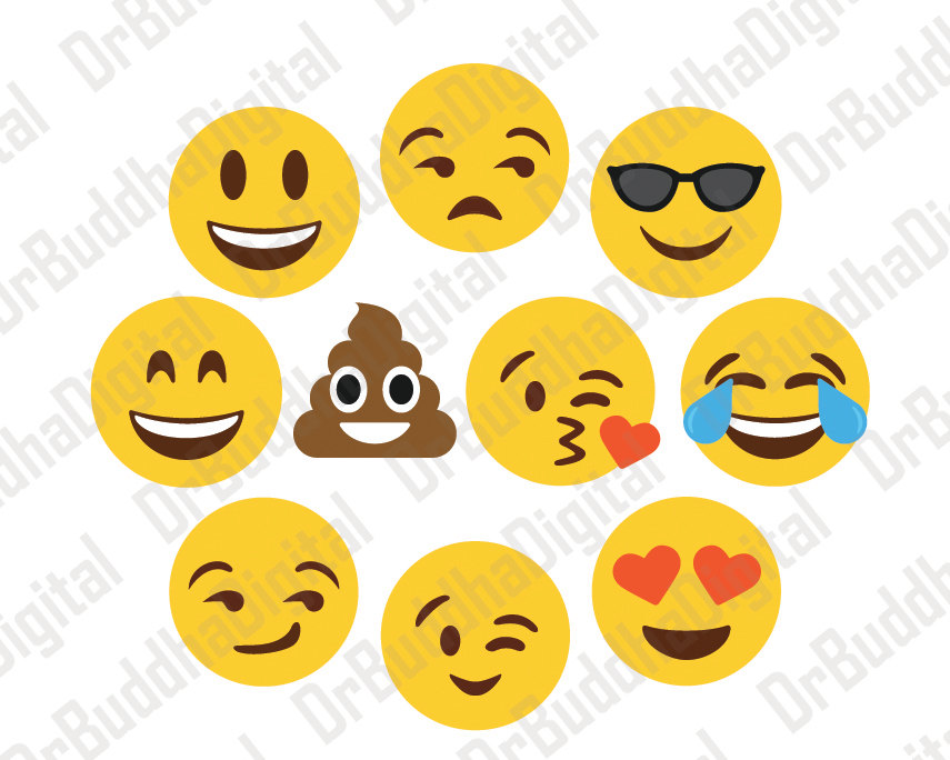 Sale! Emoji SVG Collection.