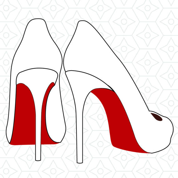 High Heel Shoes Silhouette at GetDrawings.com.