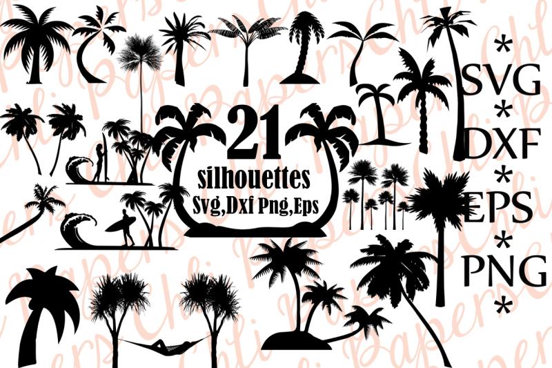 Free Palm Tree Silhouette,PALM TREE SVG, Palm Tree Clipart.