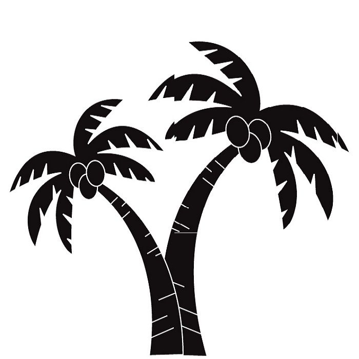 Palm tree clip art free vector in open office drawing svg.