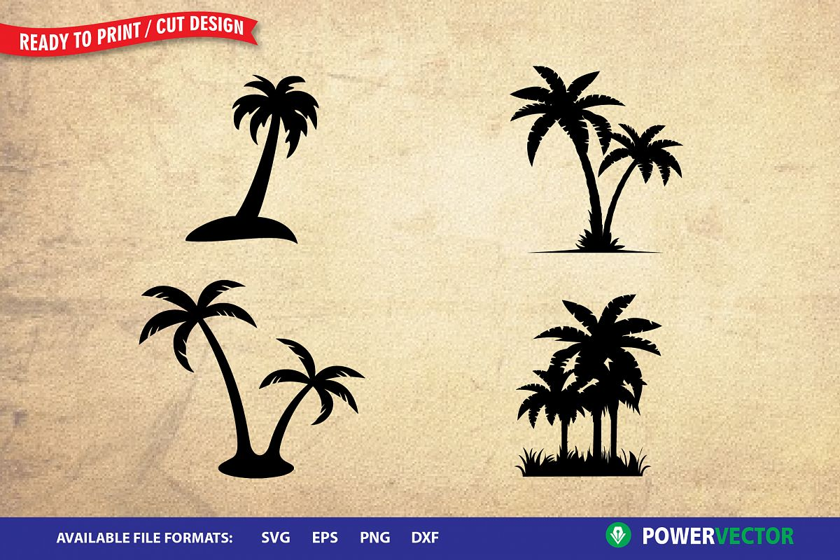 Palm Tree SVG.