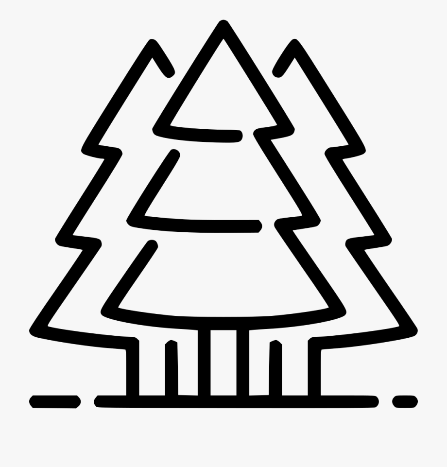Evergreen Trees Svg Png Icon Free Download.
