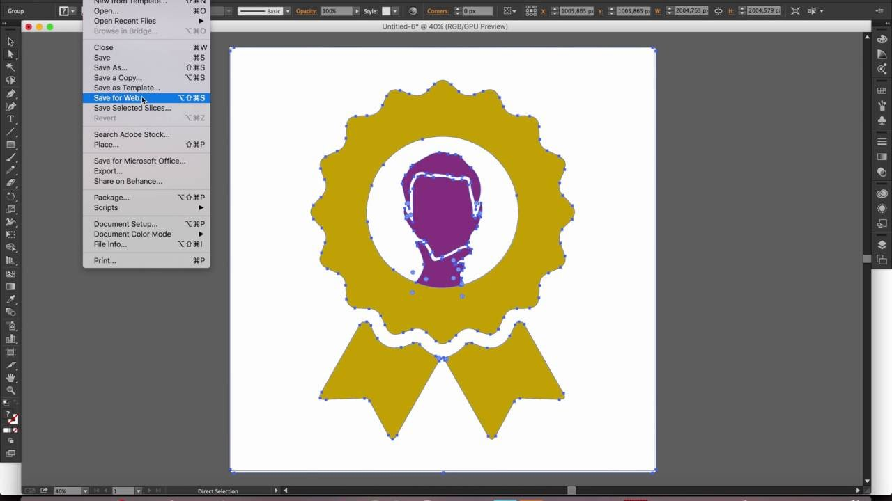 How to Convert PNG into Vector (.ai/.svg) with Adobe Illustrator.