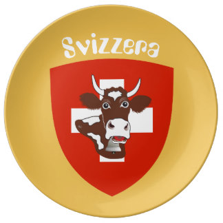 Save The Cows Plates.