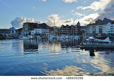 Svolvaer Stock Photos, Royalty.
