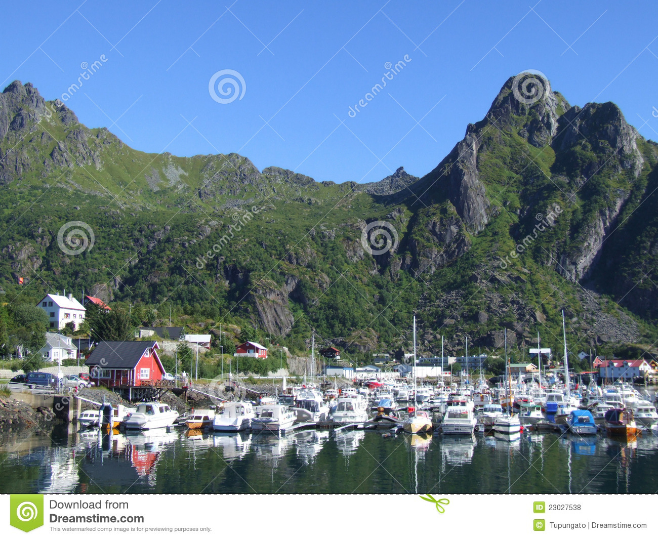 Svolvaer Norway Stock Photography.