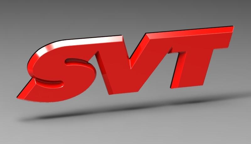 Ford SVT emblem.