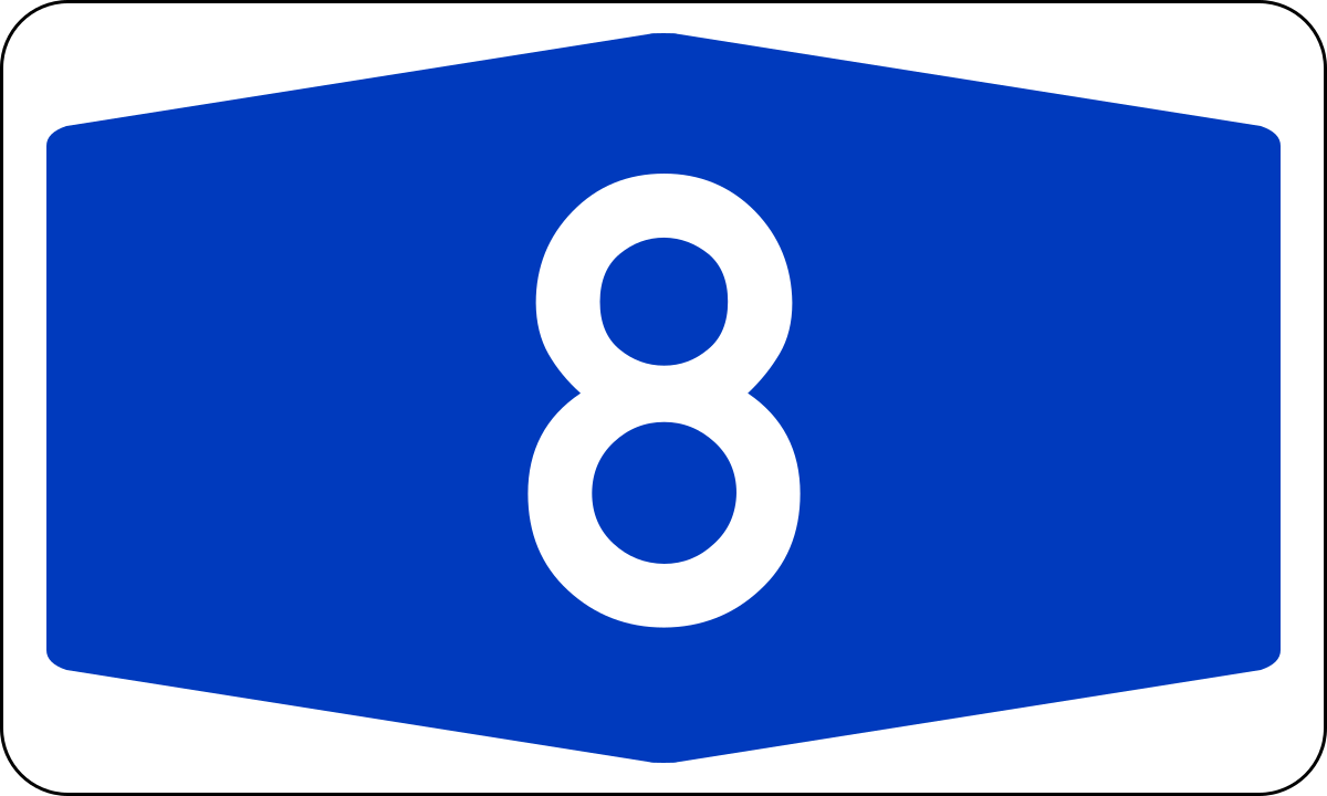 Bundesautobahn 8.