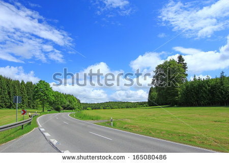 Highway Side Stock Photos, Royalty.