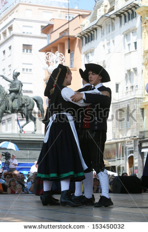German Folk Dance Stock Photos, Royalty.