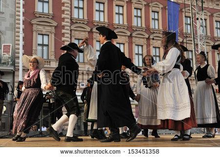 German Folk Dance Stock Photos, Royalty.