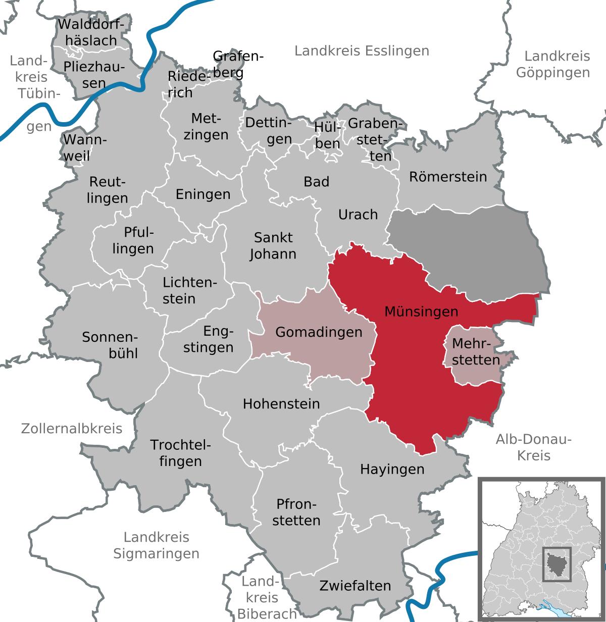 Münsingen, Germany.