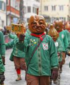 Stock Photography of Mask from Langenargen, Swabian.