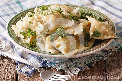 Swabian Cuisine Stock Image.