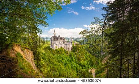 Bavaria Castle Stock Photos, Royalty.