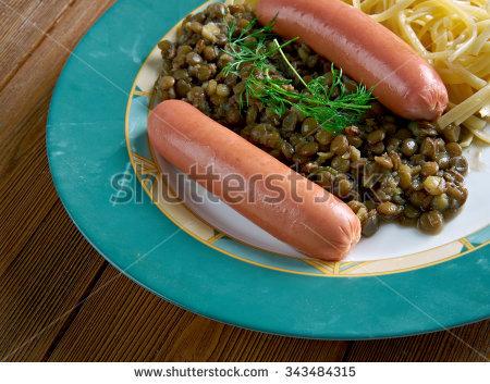 Swabian Cuisine Stock Photos, Royalty.