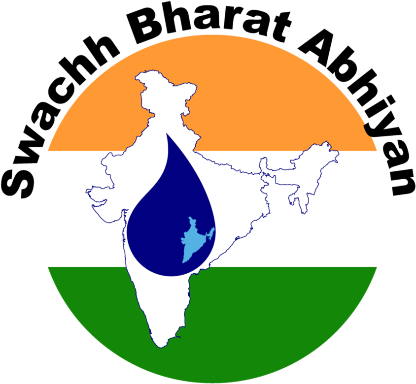 HD Swachh Bharat India Logo Transparent PNG Image Download.