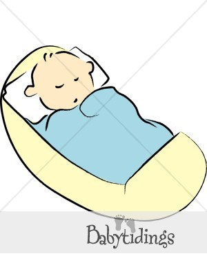 Swaddled Baby Clipart.