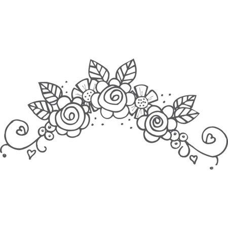 Spellbinders Stamps, Flower Swag 5.