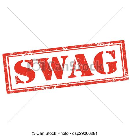 Clipart that says swag.