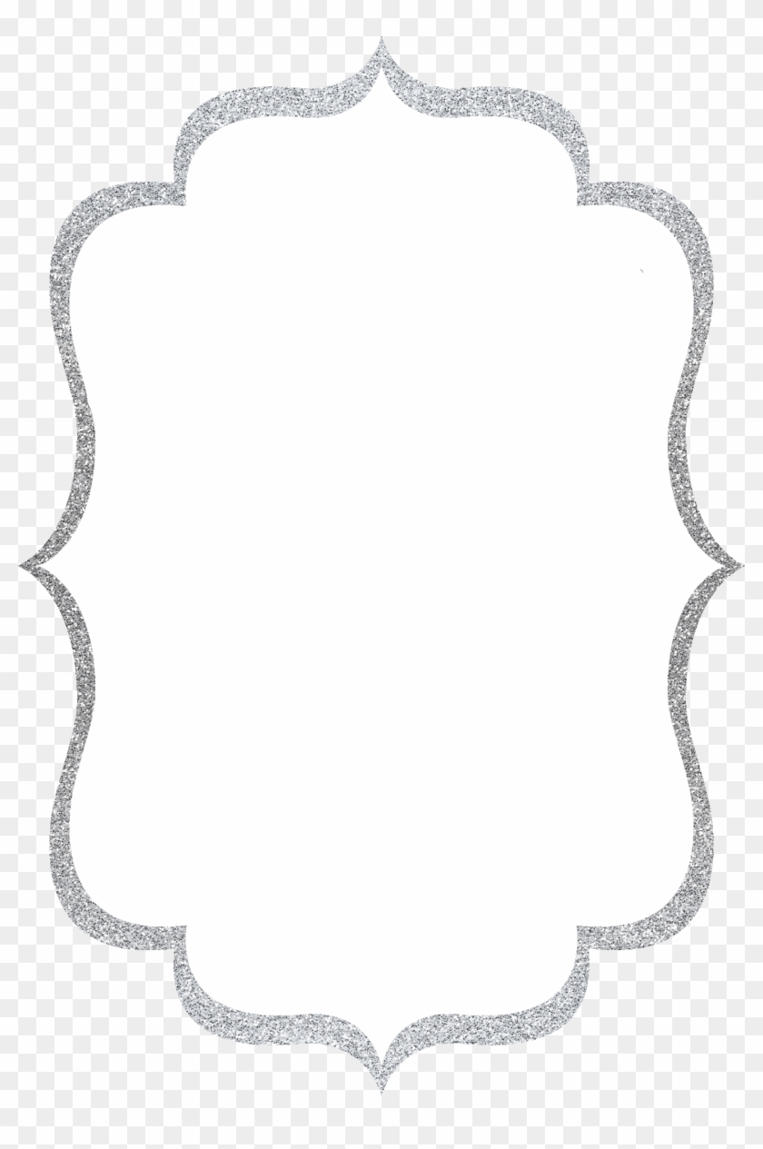 Download Free png Silver Glitter Border Gallery.