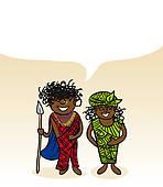 Kenyan Clip Art.